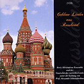 Goldene Lieder aus Russland, 2 CDs, Boris Ensemble Alexandrow
