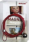 Magnet Photogallery - Magnetseil rot mit 12 Magnete
