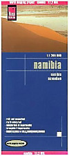 World Mapping Project Reise Know-How Landkarte Namibia (1:1.200.000); Namibie